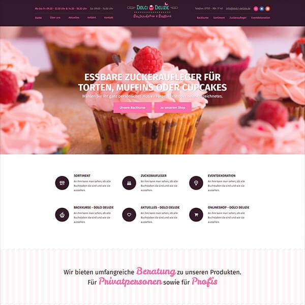 Ein Beispiel eines Screendesign
